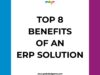 , What is ERP software and how can Edge ERP help an organization?
